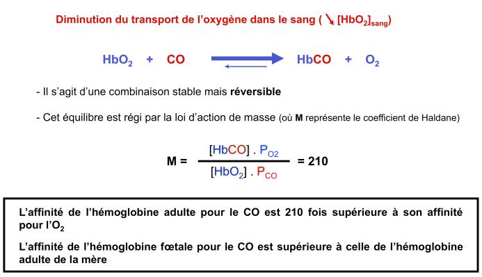 Toxicologie du monoxyde de carbone mode d 39 action toxique - Oxyde de carbone ...