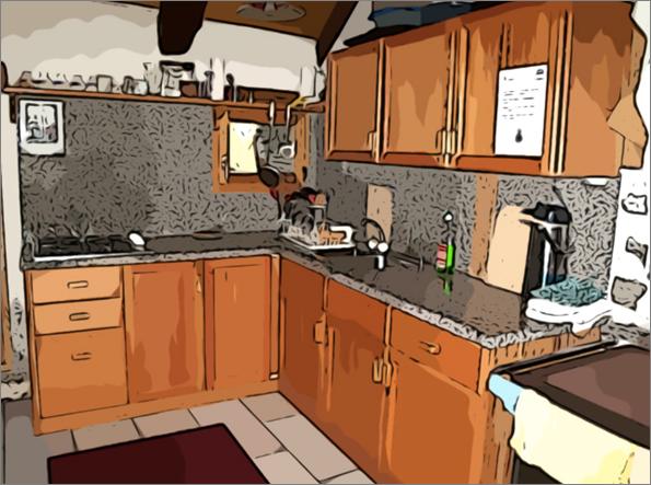 Les accidents domestiques cr dits for Accident domestique cuisine